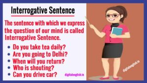 Interrogative sentence with example